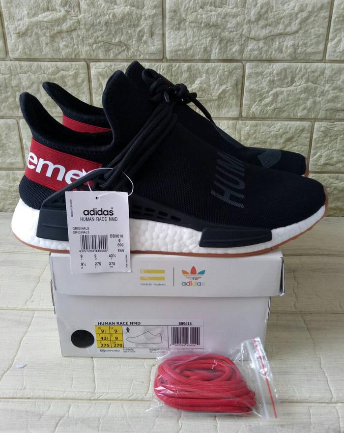 b62b310fb Jual Supreme Pharrell Williams X Adidas NMD Human Race PK Quality ...