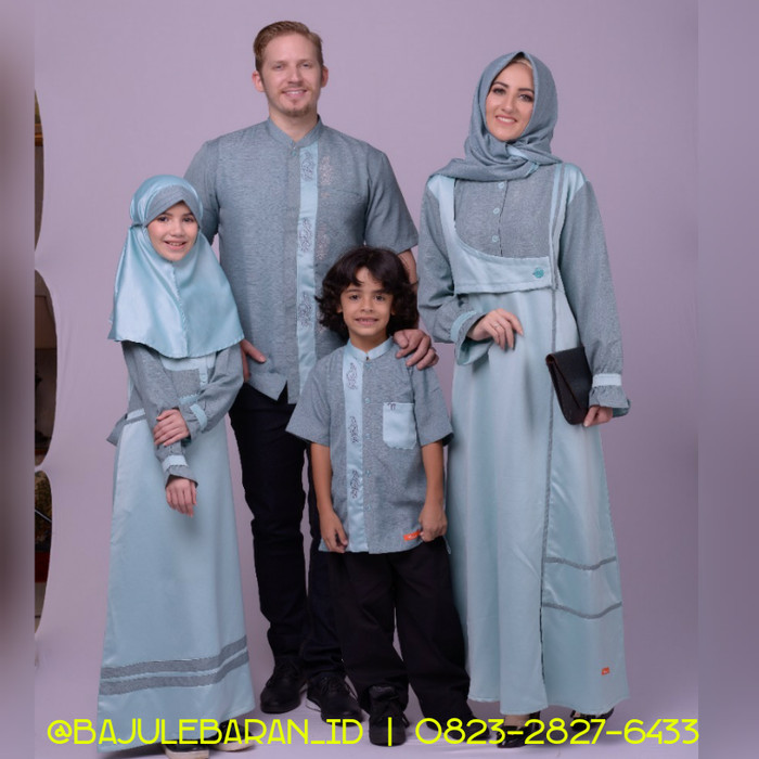 harga Baju muslim sarimbit keluarga nibras family 53 toska couple back satin Tokopedia.com