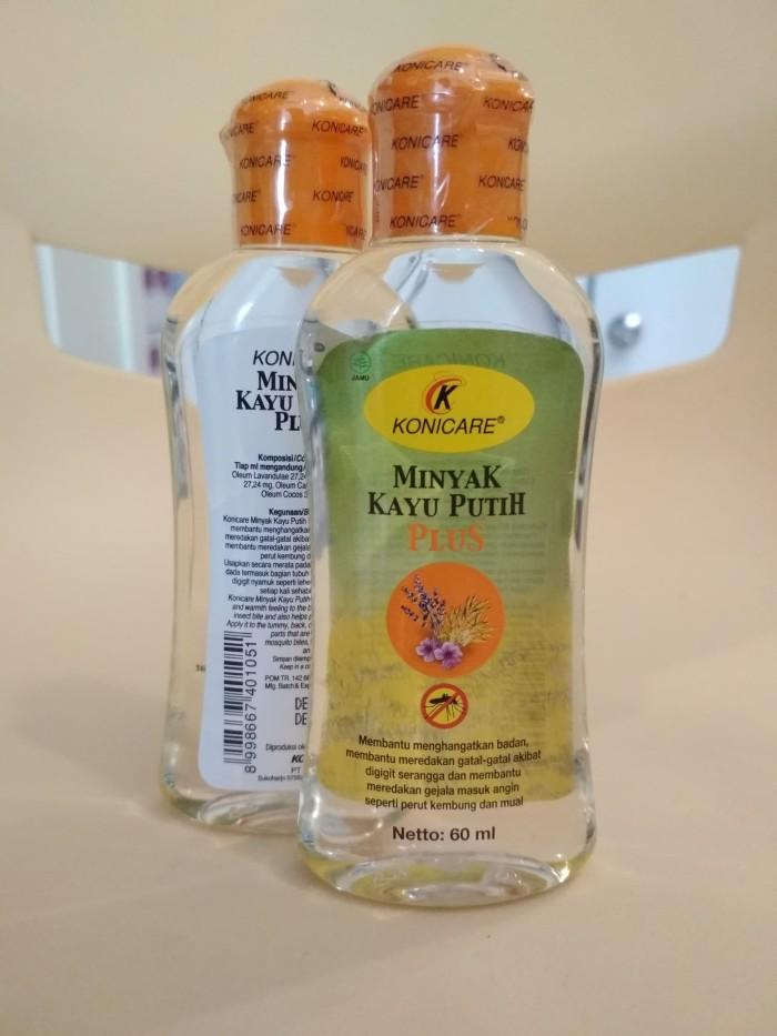 Konicare Minyak Kayu Putih Plus 60ml / Minyak Kayu Putih