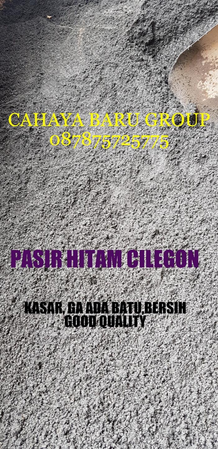 harga Pasir hitam cilegon 7 m3 Tokopedia.com