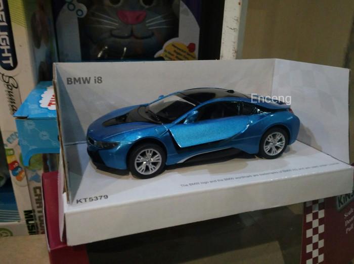 Jual Miniatur Mobil Bmw I8 Warna Biru Kota Bandung Enceng
