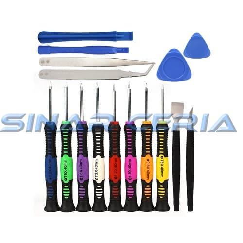 harga Tools set / obeng 1set 16 lengkap pembuka lcd & touchscreen handphone Tokopedia.com