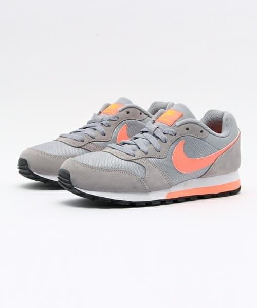 harga Sepatu casual nike md runner 2 grey orange original asli murah Tokopedia.com