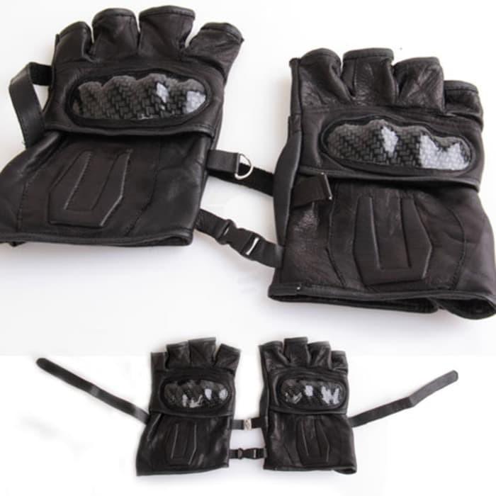 harga Aksesoris wcmr7 sarung tangan kulit batok motor kulit domba asli glov Tokopedia.com