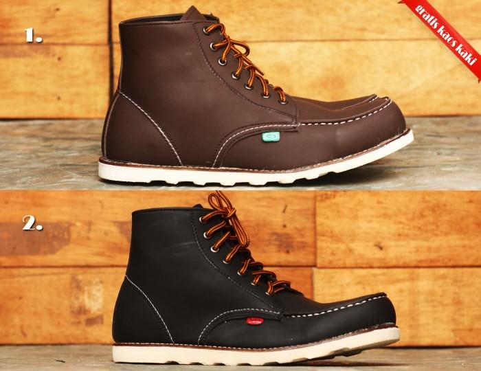 Foto Produk Sepatu Boots Kickers redwing Moctoe brown dari toko syafiah munir