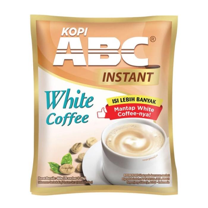 ABC White Instant Coffee Bag (Isi 20 Sachet x 23 Gram)