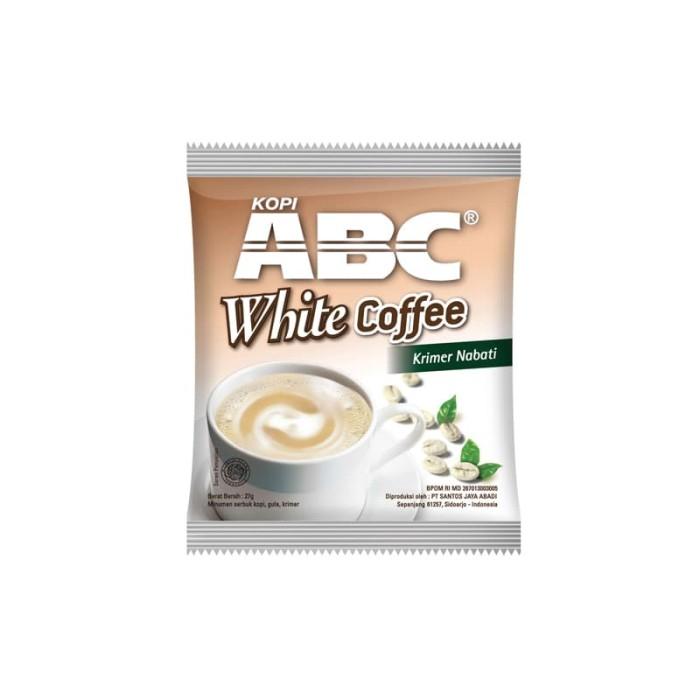 Abc white instant coffee bag (isi 20 sachet @20 gram) ...
