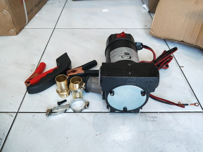 harga Pompa dc 12v khusus minyak pompa bensin pertalite solar pompa oli oil Tokopedia.com