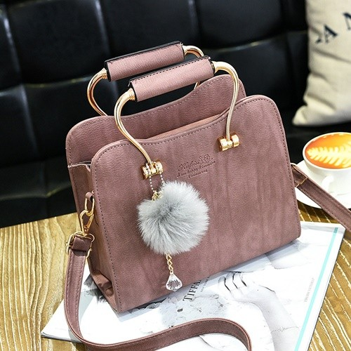 harga Tas hangout fashion kerja hand bag import - tg3769 darkpink Tokopedia.com