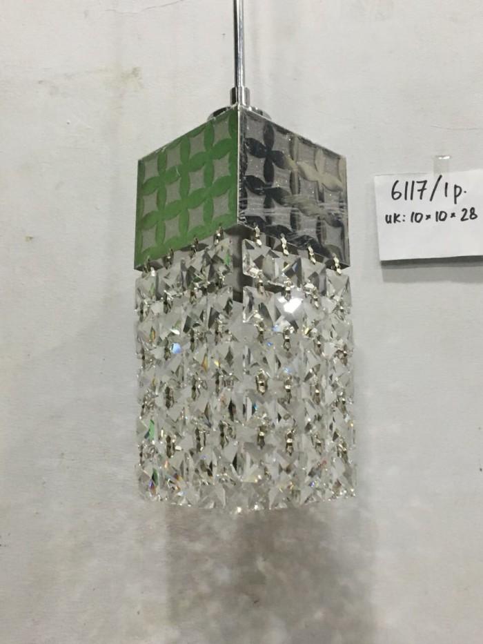 harga Lampu gantung minimalis kristal 6117 Tokopedia.com