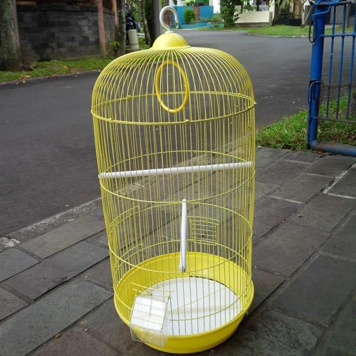 harga Sangkar / kandang burung bulat dia 33cm t 67cm Tokopedia.com