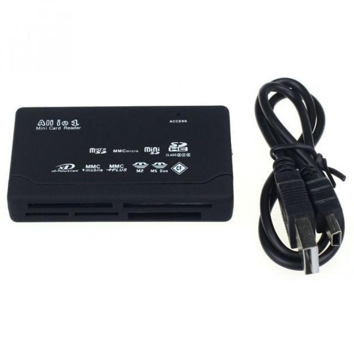 harga Card reader sd xd mmc ms cf sdhc tf micro sd m2 adapter Tokopedia.com
