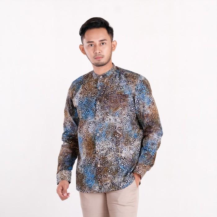 Batik Pria Tampan Com: Kemeja Koko Panjang Abs B Onion