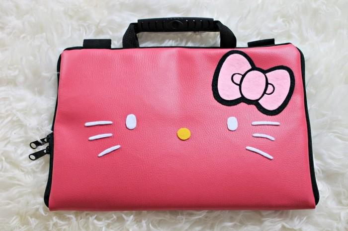 harga Hello kitty face fanta kulit 13 -14inchi softcase tas laptop notebook Tokopedia.com