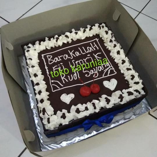Jual Kue Ulang Tahun Kotak 22cm Jakarta Utara Toko Karuniaa Tokopedia