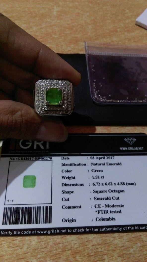 harga Emerald / zamrud colombia Tokopedia.com