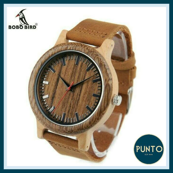 harga Jam tangan pria kayu m14 bobo bird Tokopedia.com