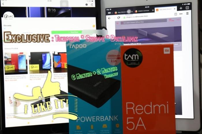 harga [promo] xiaomi redmi 5a tam ram 2gb/16gb + free powerbank 10000 mah! Tokopedia.com