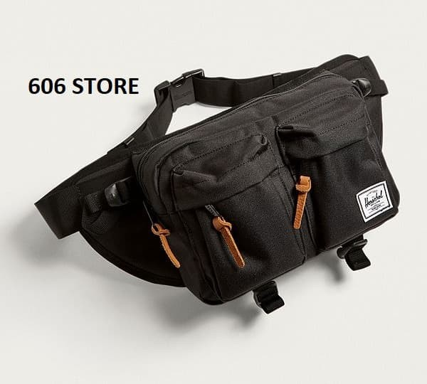 harga Herschel supply co. eighteen black hip pack - waist bag  original 100% Tokopedia.com