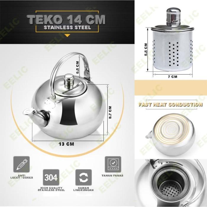 EELIC TEO-14CM TEKO STAINLESS STEEL VOLUME 1 LITER AIR