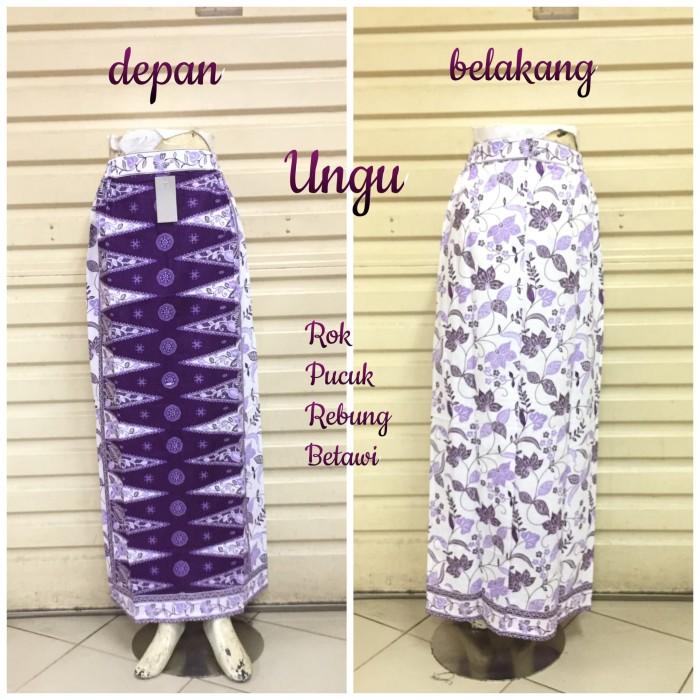 harga Rok sepan tumpal st23 motif pucuk rebung betawi   maxi skirt Tokopedia.com