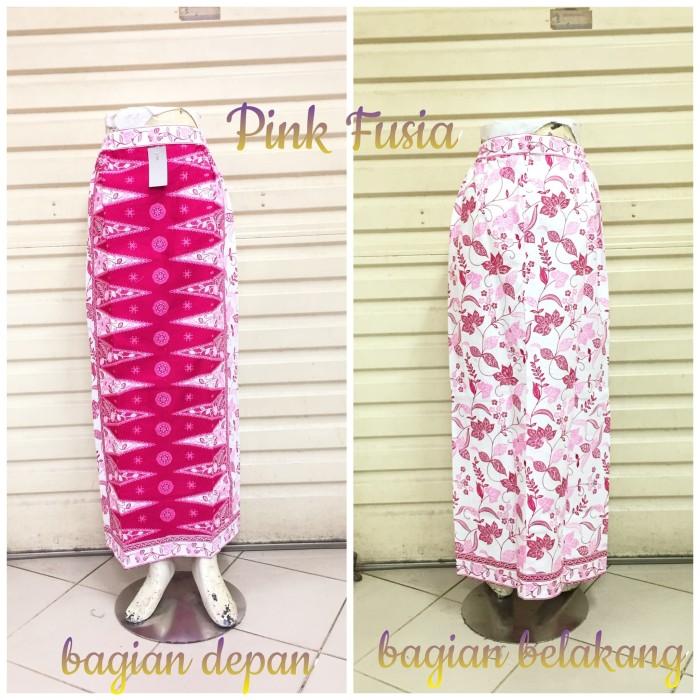 harga Rok sepan tumpal st22 putih pink motif pucuk rebung betawi tumpal Tokopedia.com
