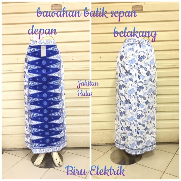 harga Rok sepan tumpal st24 motif pucuk rebung abang none betawi maxi skirt Tokopedia.com