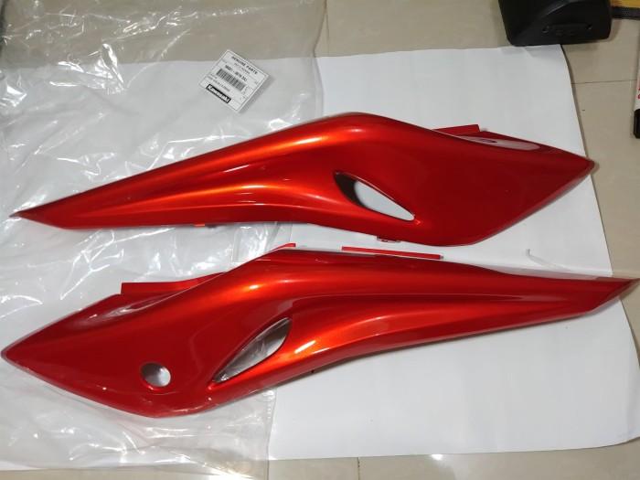 harga Body belakang ninja rr new merah orange & merah metalik original Tokopedia.com