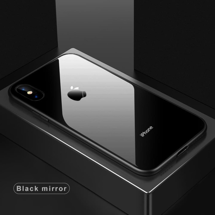 Glass Case Iphone X Ultra Thin Luxury Casing Back Cover Kaca