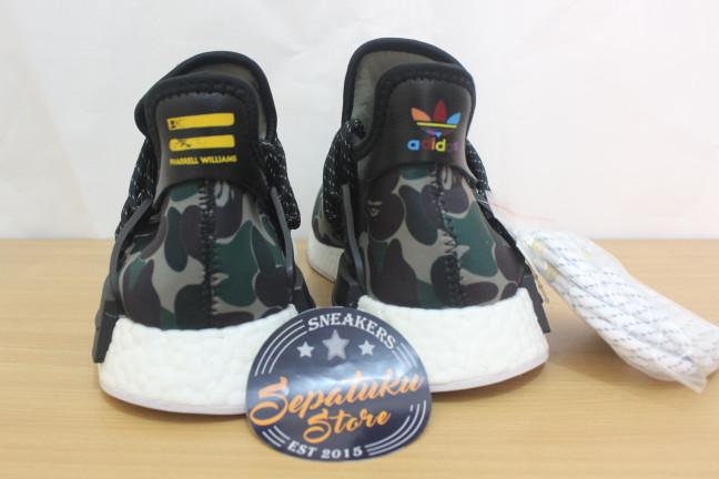 a16c77e0ad166 Jual Sepatu Adidas NMD Human Race x Pharrell Williams X Bape WGM ...