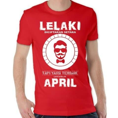t-shirt/kaos lelaki trbaik april