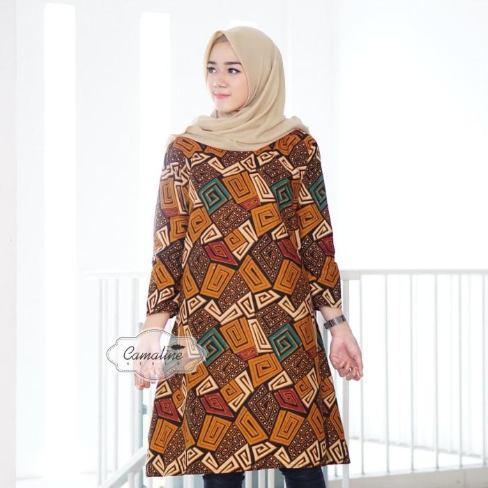 Jual Grosir Eceran Murah Baju Atasan Tunik Batik Kabila - Galery PH ... 031f9c2890
