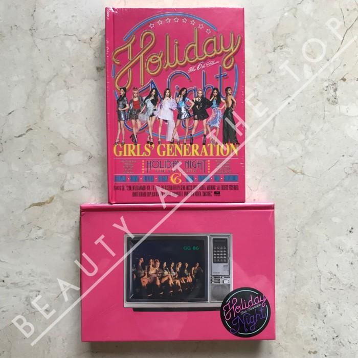 Girls Generation (SNSD) - Holiday Night + Poster (only first press)