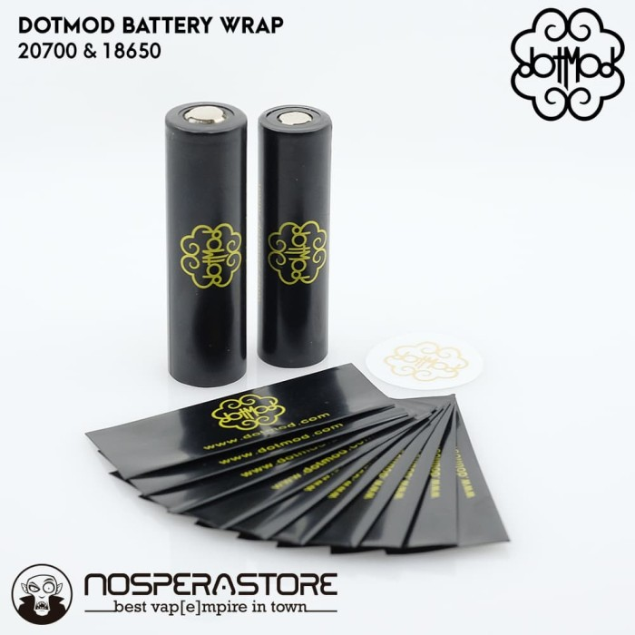 Foto Produk Dotmod Battery WRAP for 20700 and 18650 - Authentic Dotmod dari nosperaStoRe