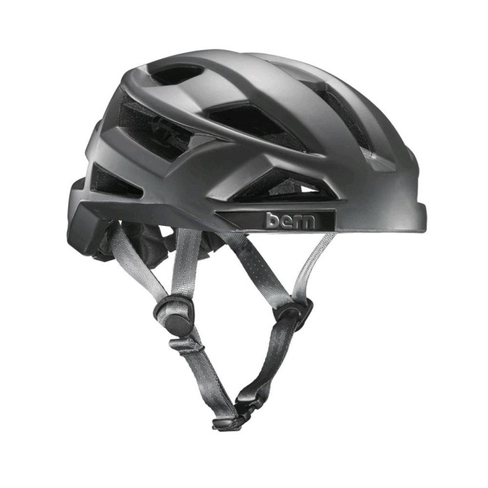 Helm Sepeda Bern FL-1 Pave MIPS Helmet - Satin Dark Sil Diskon 1