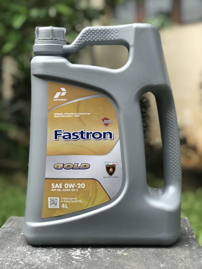harga Ori oli pertamina fastron gold sae 0w-20 api sn galon 4 liter Tokopedia