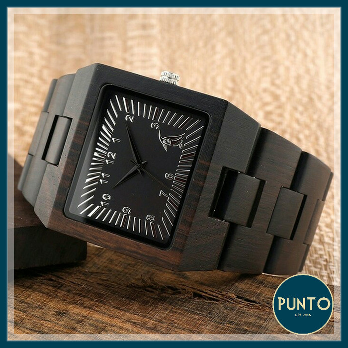 harga Bobobird l23 black sandal vintage wooden / jam tangan pria/wanita kayu Tokopedia.com