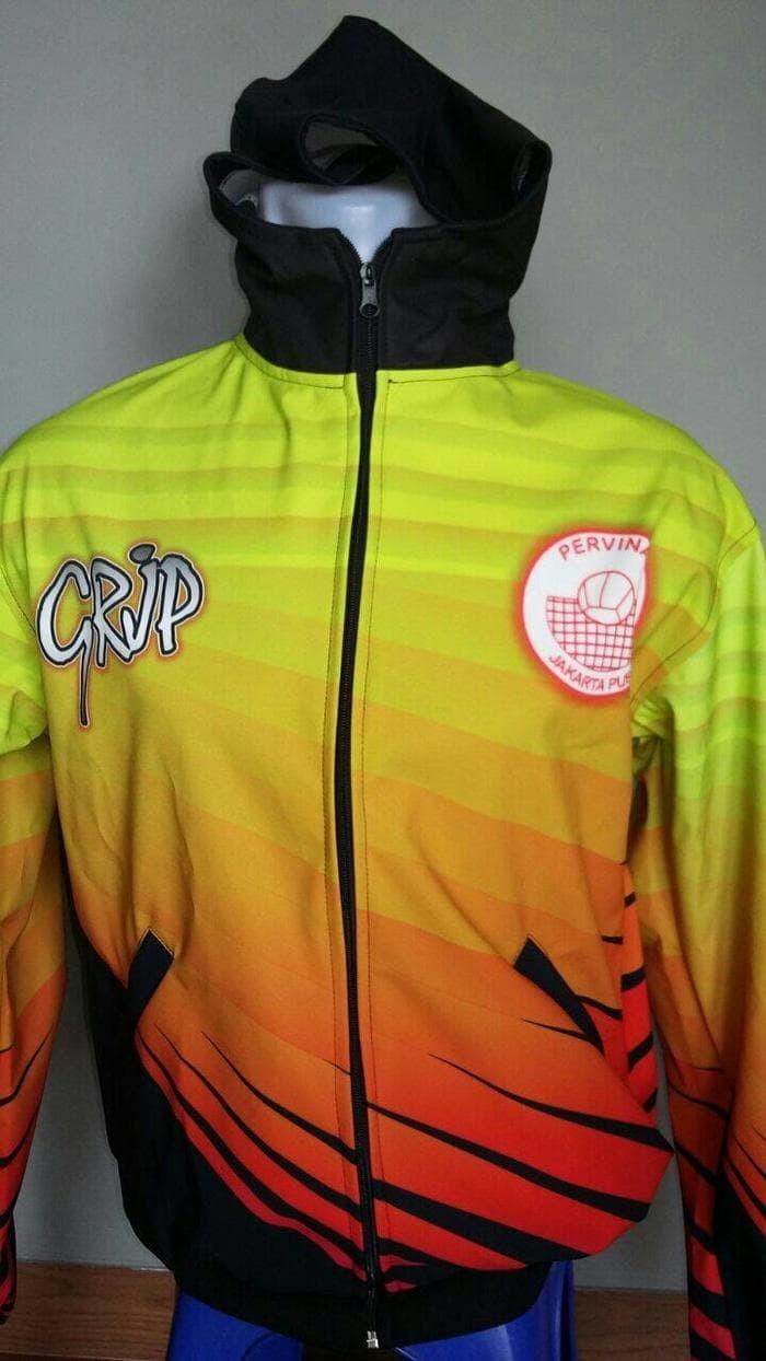Jual Best Jaket Kontingen Tim Bola Voli Volley Jakarta Timur Zona JKT4 Timur