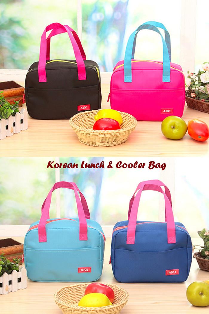 New Korean Lunch & Cooler Bag (Tas dgn lapisan penahan Diskon