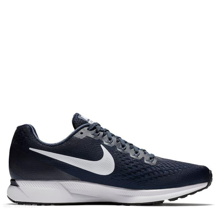 8b99846d9b01 Sepatu Lari Original Nike Air Zoom Pegasus 34 - Obsidian Thunder Blue