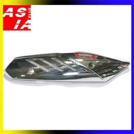 harga Tutup knalpot asesoris sepeda motor racing yamaha mio m3 bluecore crom Tokopedia.com