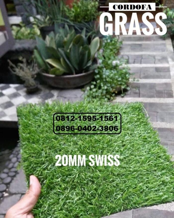Rumput Sintetis Untuk Taman dan Dekorasi Tinggi 20MM