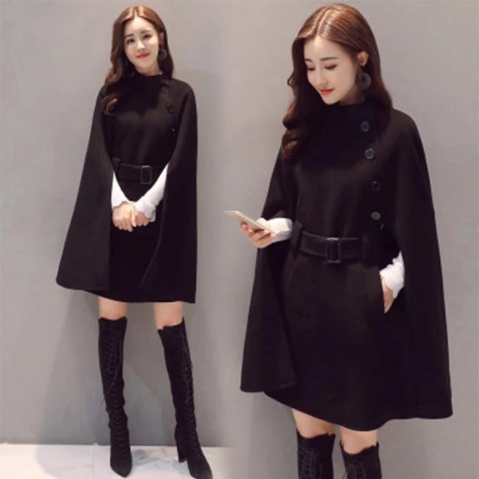 harga Coat wool korean style winter musim dingin Tokopedia.com