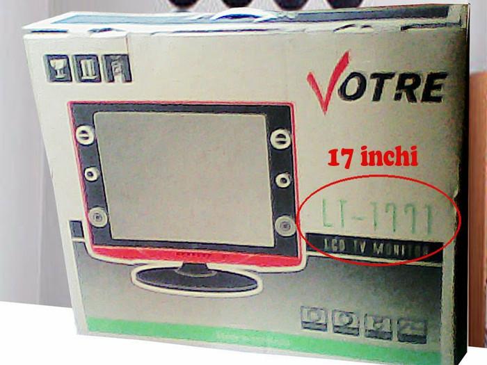 Lcd tv votre 17inch /hdmi input,hd resolution, vga input