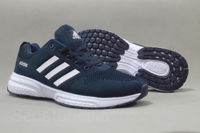 fotos nuevas real mejor valorado descuento Jual Sepatu MURAH Adidas Climacool Navy Size 40 - 44 - Kab ...