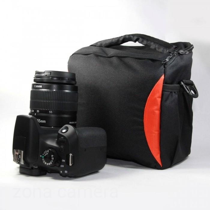 Foto Produk Tas Kamera BX-9 Mirrorless / DSLR / Handycam / Semipro FREE RAINCOAT dari zona camera