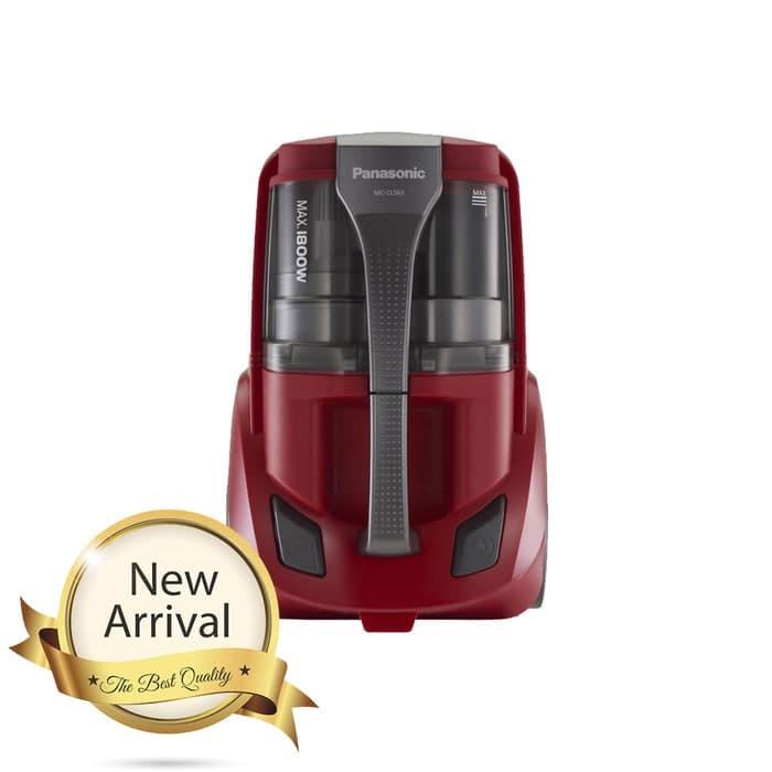 harga Panasonic - bagless canister vacuum cleaner mccl563r Tokopedia.com