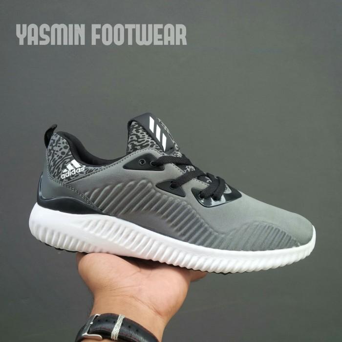 Promo Murah H81k01 Sepatu Senam Wanita Adidas Alpha Bounce Laris L41w9 d791bde49e