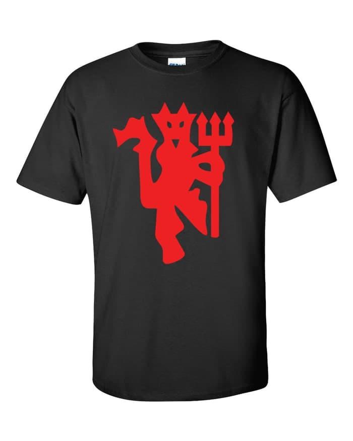 harga Kaos t-shirt logo mu red devil besar Tokopedia.com