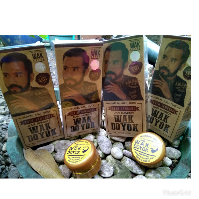 WAKDOYOK cream 15ml penumbuh kumis-brewok-penebal alis GROSIR ORI100%